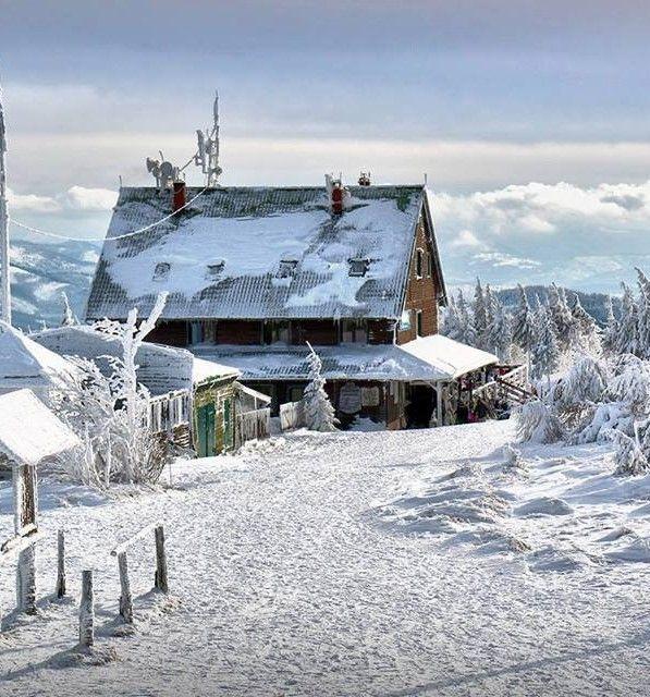 #Skrzyczne  Peak, #Beskidy Mountains. Poland