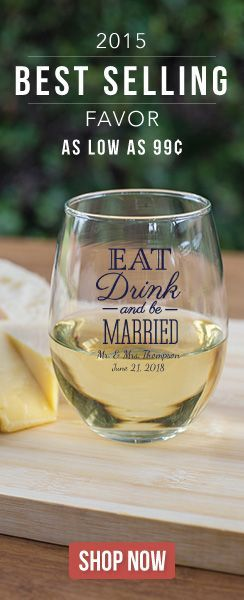 Definitely a wedding favor your guests will use!