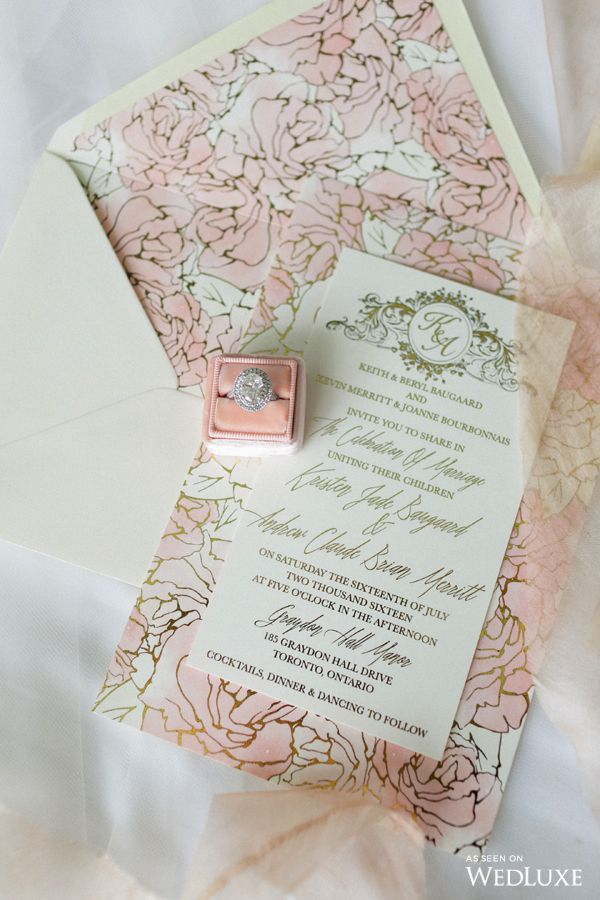 114 best youre invited images on pinterest invitation this soft pastel hued invitation featured a whimsical cherry blossom design photography by stopboris