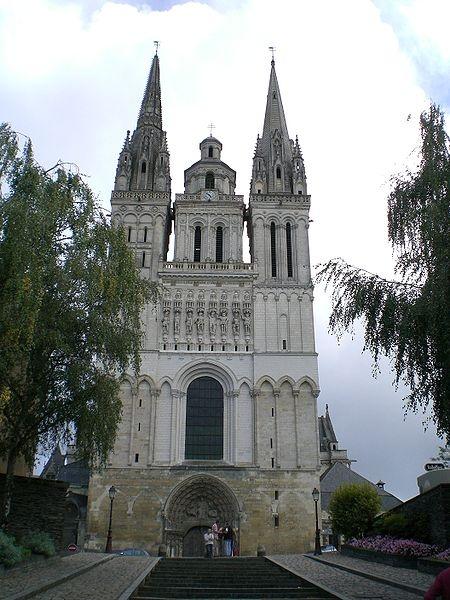 Cathédrale Saint-Maurice, Angers, France