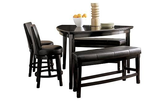 emory counter height dining table from ashley furniture looking for something unusual counter. Black Bedroom Furniture Sets. Home Design Ideas