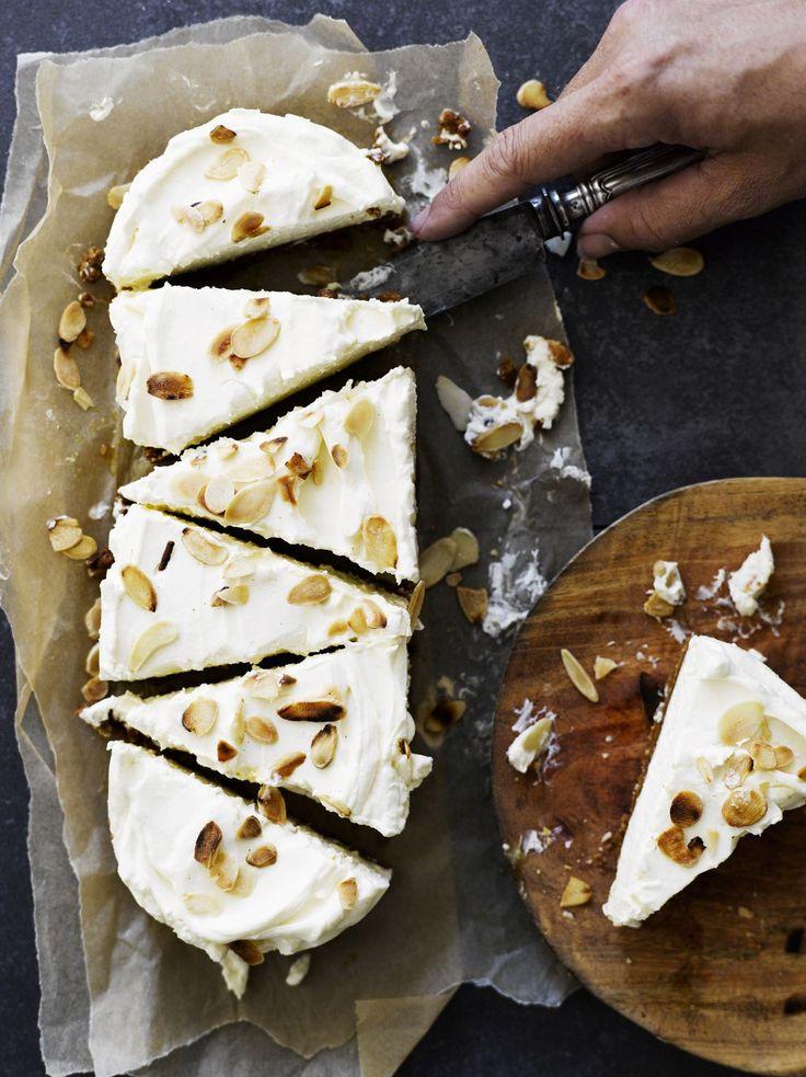 Sitruunainen piparkakku-juustokakku | Soppa365