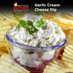 Garlic Cream Cheese Dip