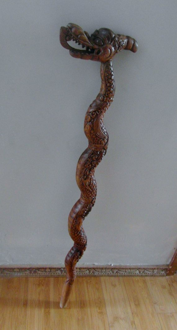 Wooden Cane Designs Hand carved cus...