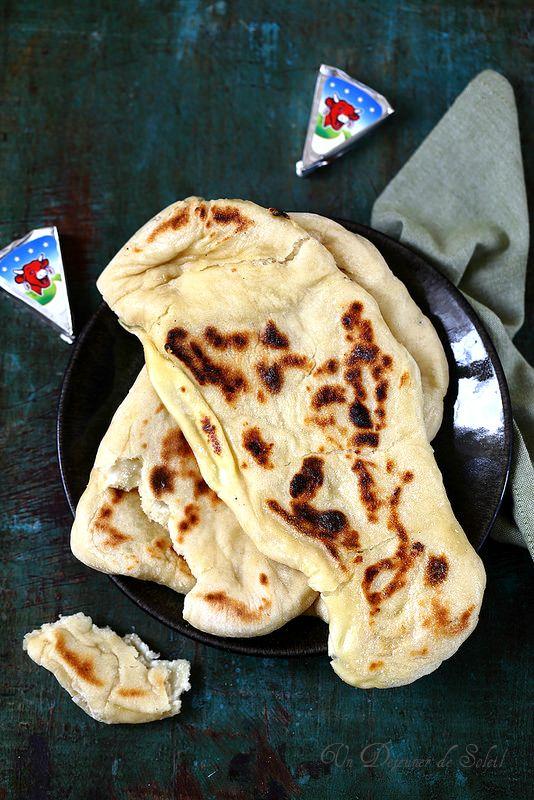 Un dejeuner de soleil: Cheese naans (pas à pas)