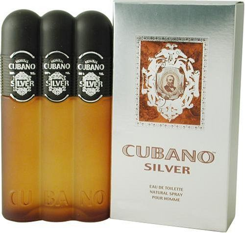 Cubano Silver By Cubano For Men. Eau De Toilette Spray 4 Ounces by Cubano. $7.26. Packaging for this product may vary from that shown in the image above. This item is not for sale in Catalina Island. Fragrance notes: The wonderful aroma of spices and mint, clean and refreshing. Recommended use: daytime.When applying any fragrance please consider that there are several factors which can affect the natural smell of your skin and, in turn, the way a scent smells on yo...