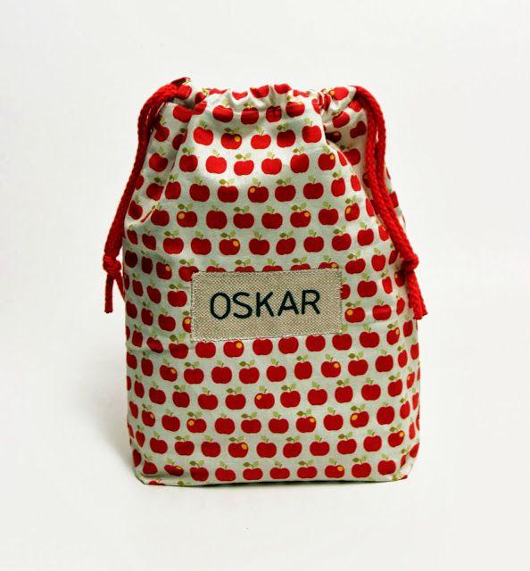 made by Amalie Lykke: En sød frugtpose til nevøen