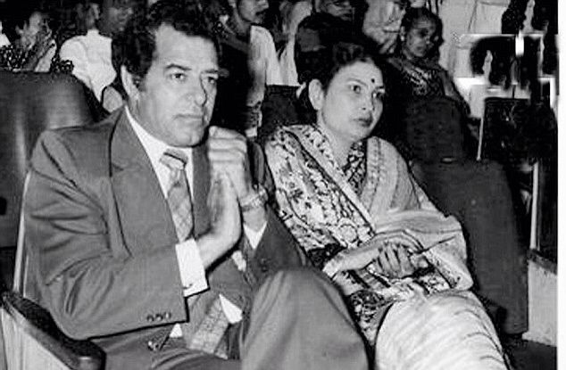 Dara Singh and Wife