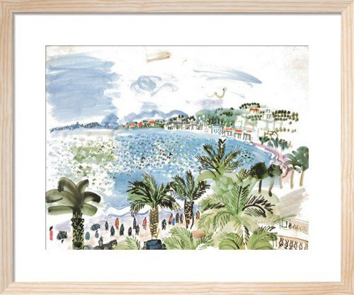 La Promenade des Anglais, 1928 Art Print by Raoul Dufy at King & McGaw