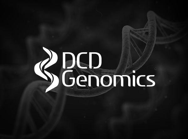 DCD Genomics Logo #design #logo #axisofevildesign