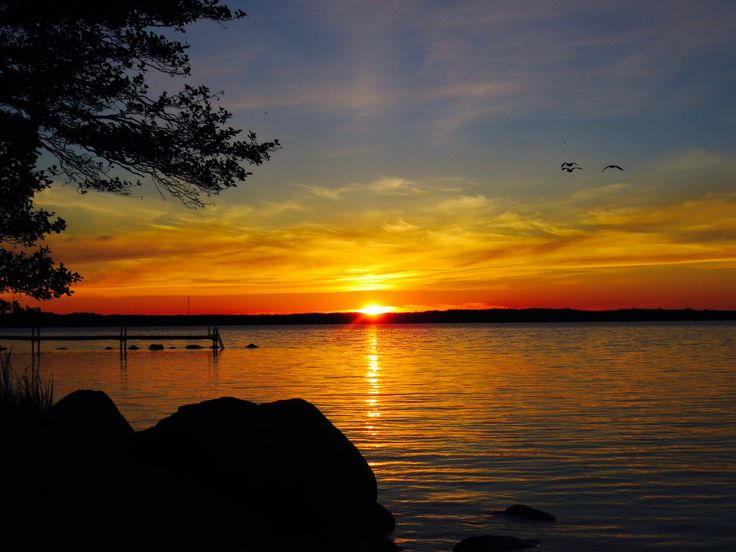 Sunrise at sea shore, 4 a.m