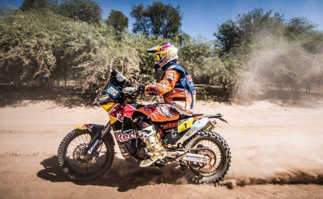 Bittersweet Day For Red Bull KTM Factory Racing Team At Dakar 2017 - Motorcycle.com News