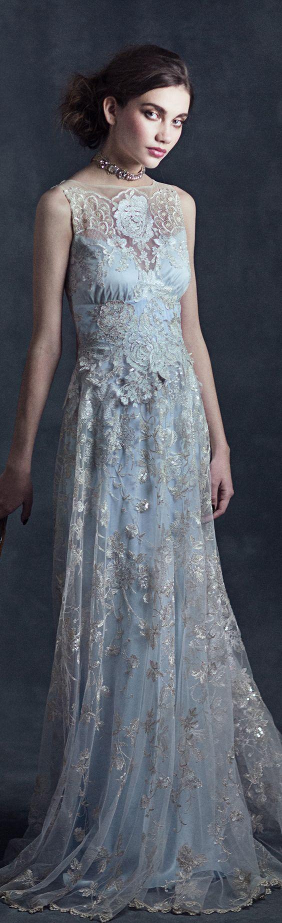 Old Fashioned Claire Pettibone Wedding Dresses Vignette - All ...