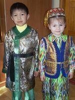 Узбекские детские танцевальные костюмы