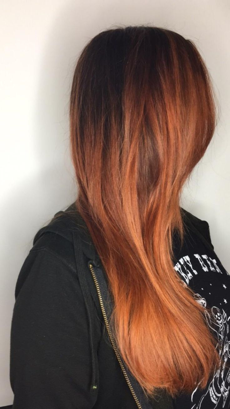 Copper hair painting for my friend today http://ift.tt/2xxZhLV