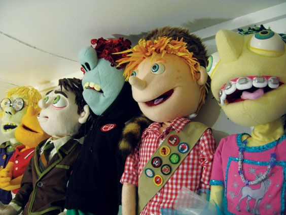 Puppets were a part of my childhood that is very memorable, when my dad read to us he used puppets sometimes to entertain us and keep our attention, he had silly voices he would use and was a pro at working the puppet!