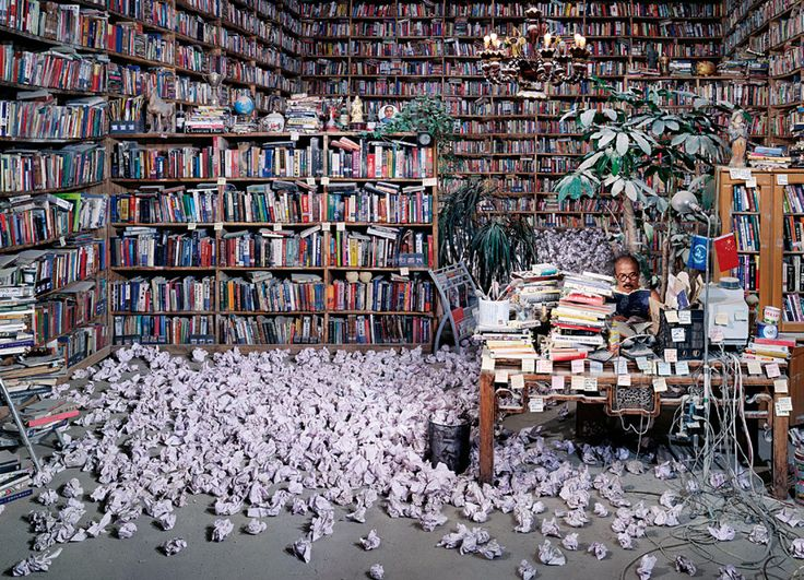 'follow him' by wang qingsong (2010) on exhibition at the china national pavilion, venice art biennale 2013