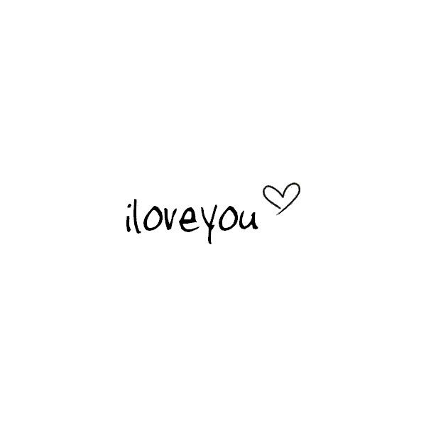 i love you image, picture by short_lady - Photobucket ❤ liked on Polyvore