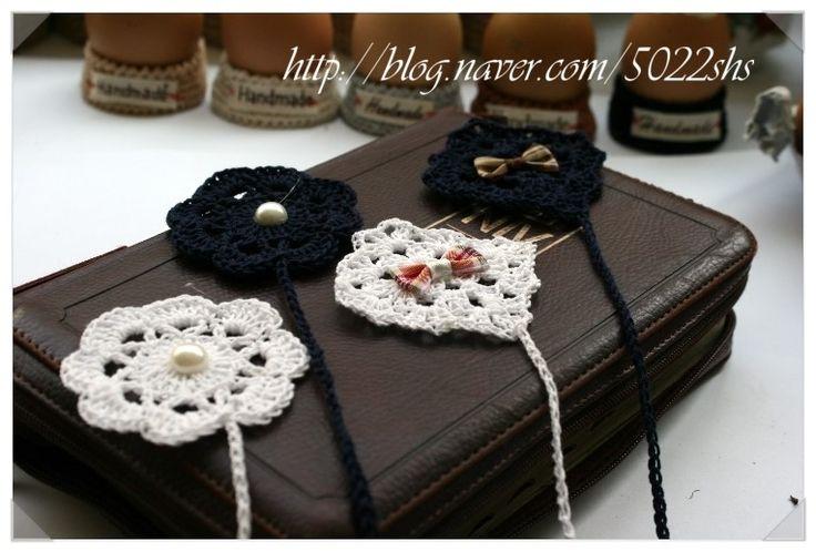 How to make..  simple  granny squar crochet book mark more photo  http://blog.naver.com/5022shs/220161167833