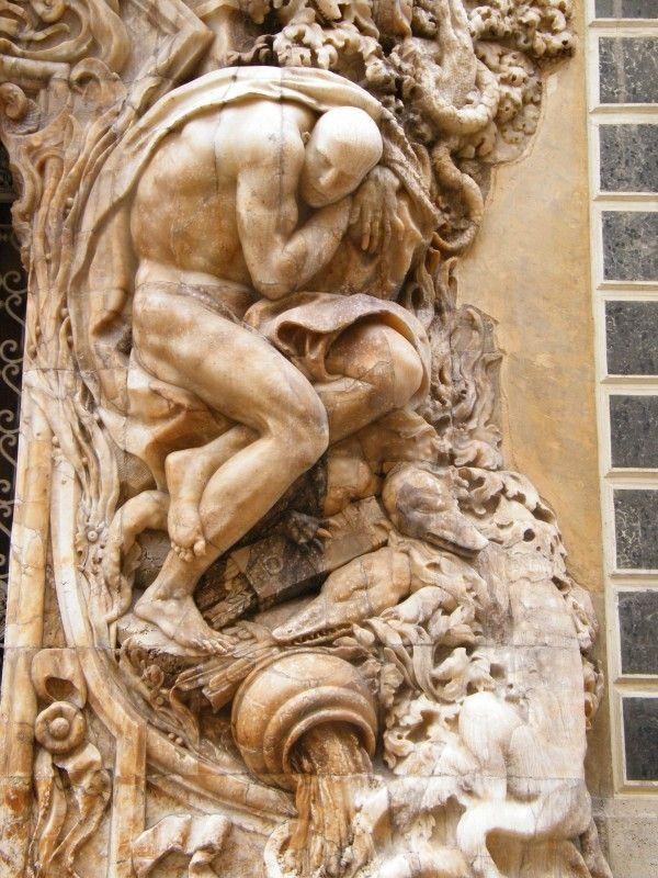 Древнегреческая скульптура,Атлант Палау де Дос Агуас де Валенсия, Испания шедевры мировой живописи бесплатно скачать