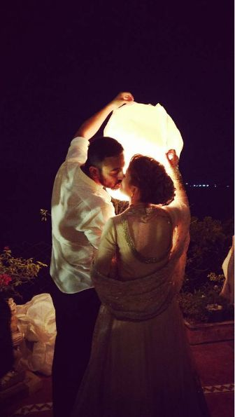 Arunoday Singh and Lee Elton's #IndianWedding pictures. Arunoday Singh Married his Long-time Girlfriend Lee Elton and The Pictures are Dreamy, Dec, 2016 via @topupyourtrip