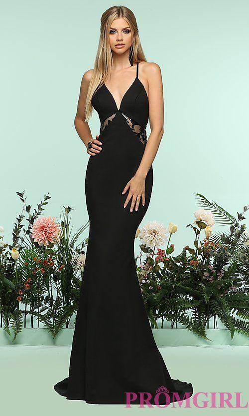 Long Racerback Sleeveless Prom Dress by Zoey Grey