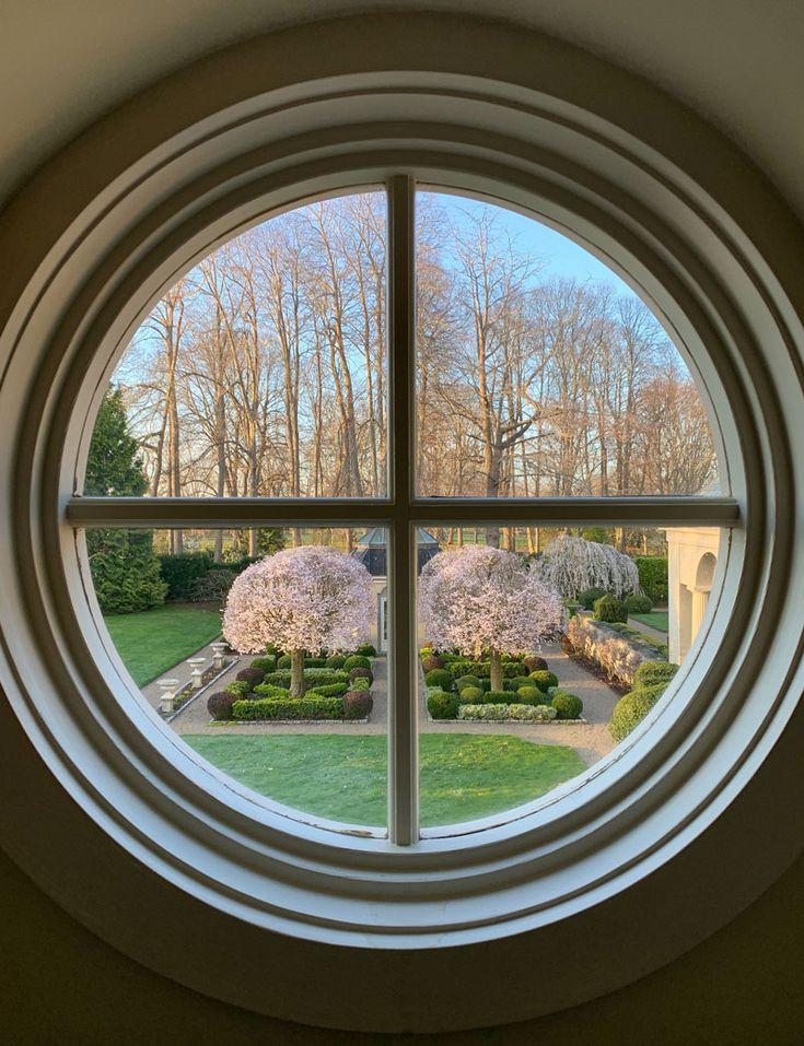 The Centerpiece of the Parterre Garden Private Newport