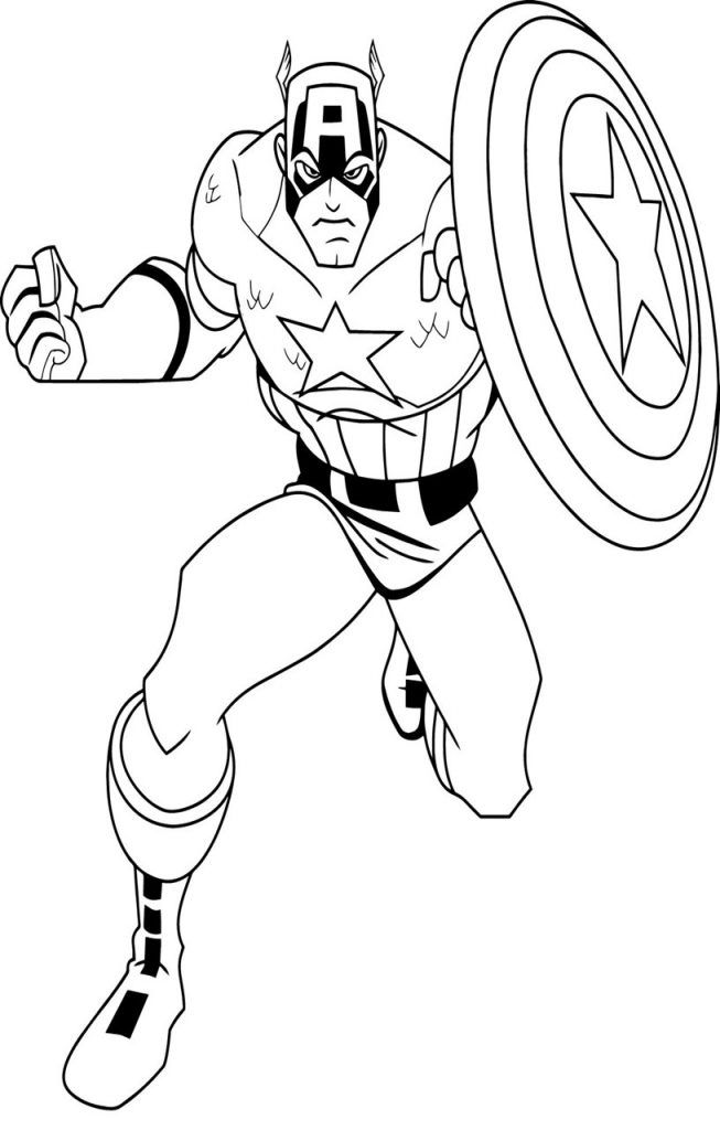 Printable Captain America Coloring Pages 14 Sheets In 2020 Captain America Coloring Pages Superhero Coloring Pages Superhero Coloring