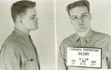 Charles Raymond Starkweather was a 19 year old spree killer who murdered 11 people in Nebraska and Wyoming in a 2-month spree between December, 1957 and January, 1958. All but one of Starkweather's victims were killed between 1/25 and 1/29, 1958 (the date of his arrest). Starkweather was accompanied by his 14-year-old girlfriend, Caril Ann Fugate. Starkweather was executed seventeen months later; Fugate served seventeen years in prison before her release from incarceration in 1976. (V)