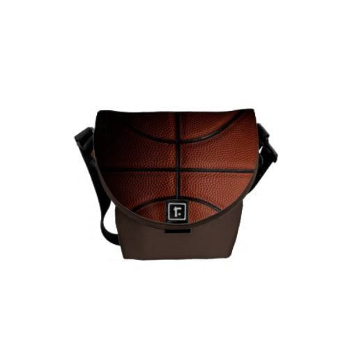Basketball Mini Messenger Bag