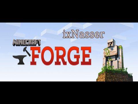 مودات ماينكرافت | شرح تحميل مود الفورج او مود فورج 1.10 1.10.2 Mod Forge...