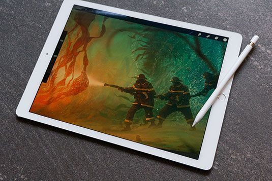 iPad Pro (2017) with iOS 11