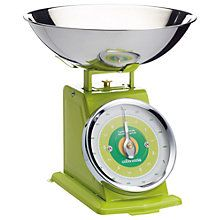 Buy Colourworks Mechanical Kitchen Weighing Scales, Green Online at johnlewis.com