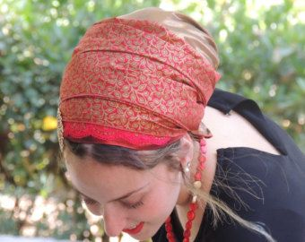 How To Tie My SINAR TICHELHow to wrap a head от SaraAttaliDesign