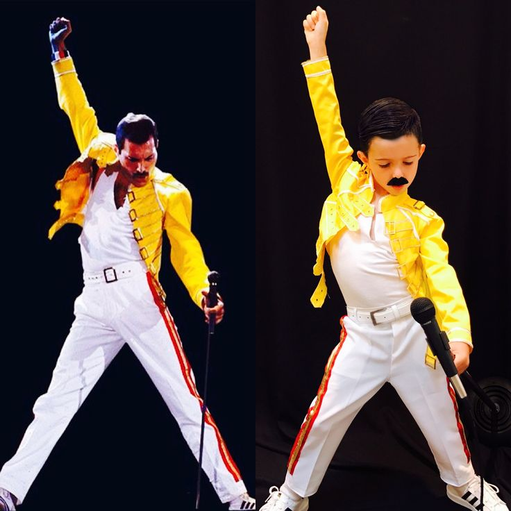 Freddie Mercury Kid S Halloween Costume In 2019 Family