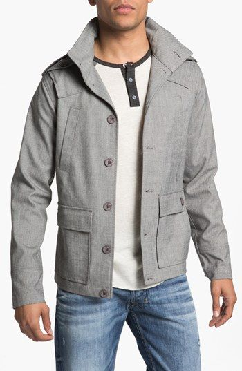 Trim Fit Military Jacket - Kane & Unke