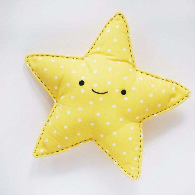 Sewing Crafts zu machen und zu verkaufen – Easy Sew Star Snuggler – Einfache DIY-Nähideen …   – sewing