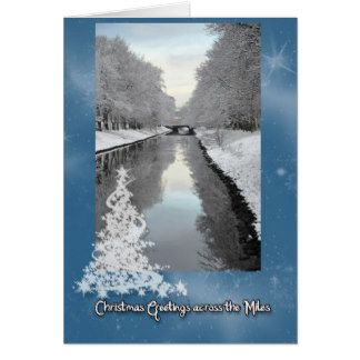 Greetings across the Miles Greeting Card