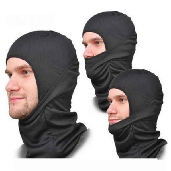 FuzWeb:BL COOL Balaclava Full Cycling Motorcycle Ski Face Mask Fishing Outdoor Rapid-curing Cutback