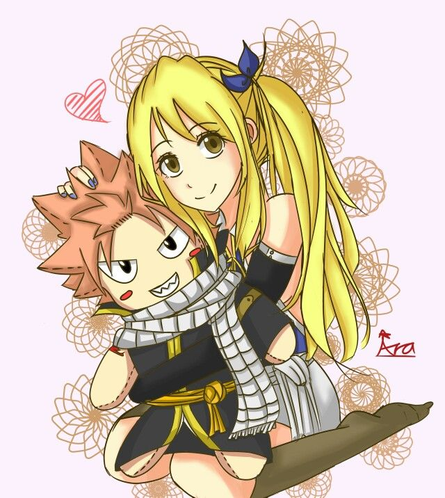 Nalu From Fairy Tail On Pinterest Nalu Natsu And Lucy And