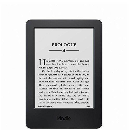 "Kindle, 6"" Glare-Free Touchscreen Display, Wi-Fi Amazon http://www.amazon.ca/dp/B00KDRU028/ref=cm_sw_r_pi_dp_.3Jxwb11BTE3Q"