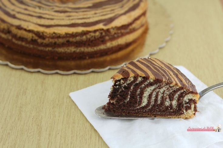Torta+zebrata,+ricetta+senza+burro