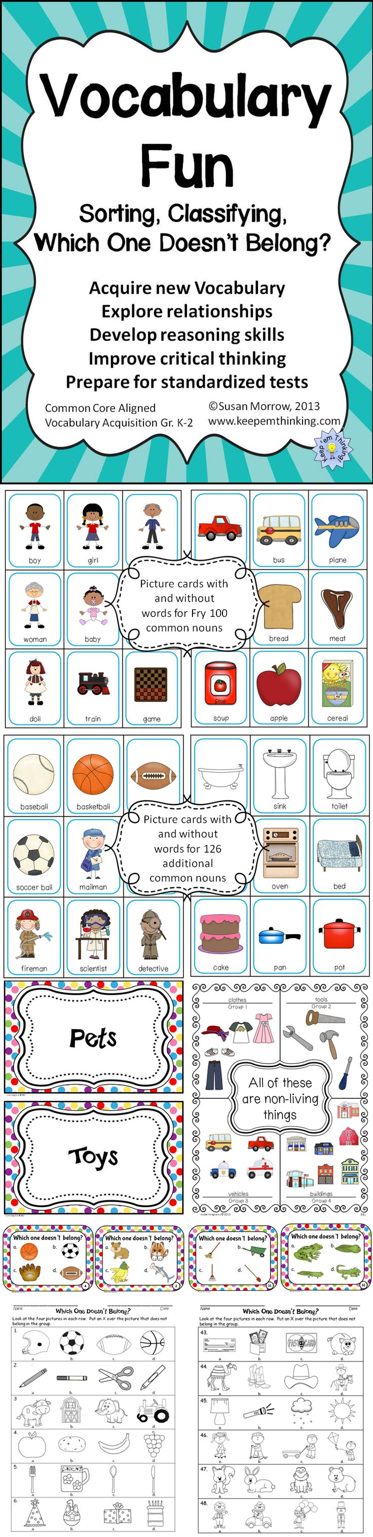 264 best vocabulary building images on pinterest for Construction vocabulary