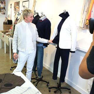 And now? Fashion designer. | Here's What Ellen DeGeneres' New Clothing Line Looks Like