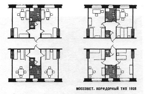mossoviet double corridor