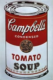 Carole's Chatter: Andy Warhol's Soup Cans