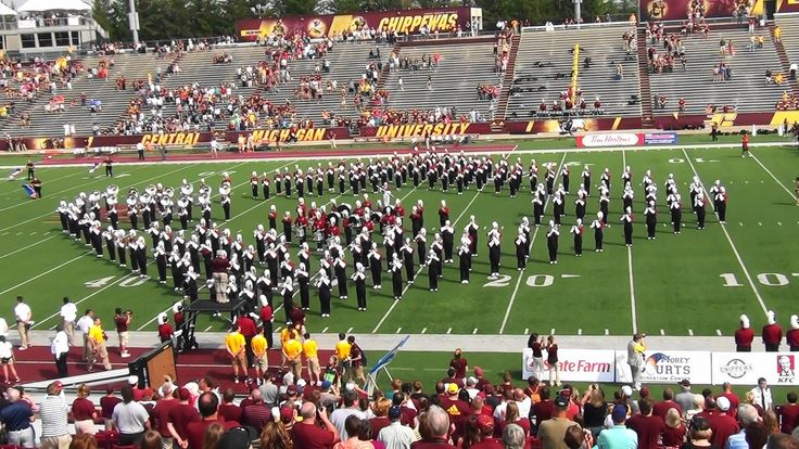 CMU Marching Band ...September 7th, 2013