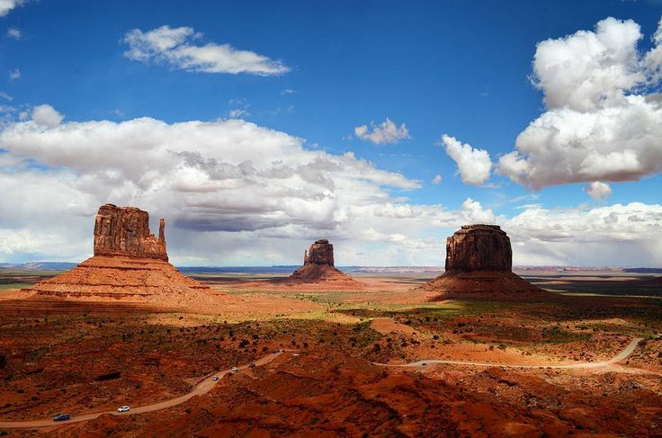 Monument Valley is the place where God put the West. (John Wayne)