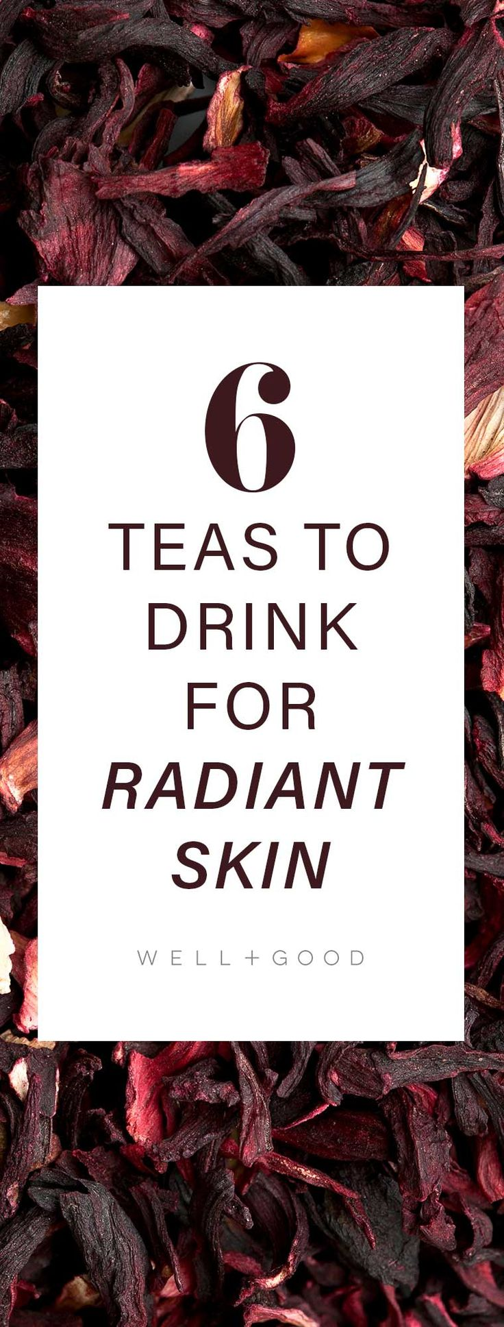 What to drink for glowing skin.