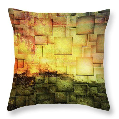 Long Hot Summer Contemporary Abstract Art Throw Pillow for Sale by Georgiana Romanovna https://fineartamerica.com/products/long-hot-summer-contemporary-abstract-art-georgiana-romanovna-throw-pillow.html